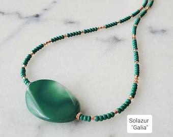 "Solazur necklace ""Galia"""