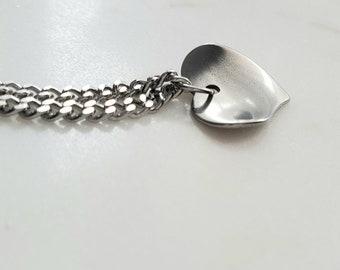 """Solazur """"HeartLeaf"""" necklace"""