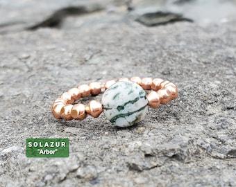 """Solazur """"Arbor' ring"""