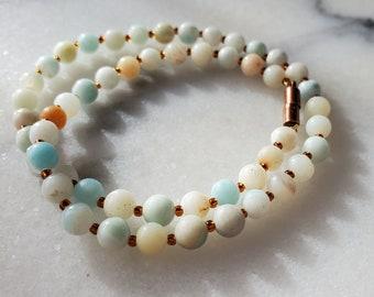"Solazur necklace ""Agata"""