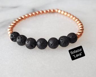 "Solazur bracelet ""Lava"""