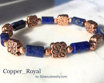 """Copper_Royal"" bracelet"