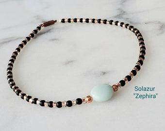"Solazur necklace ""Zephira"""