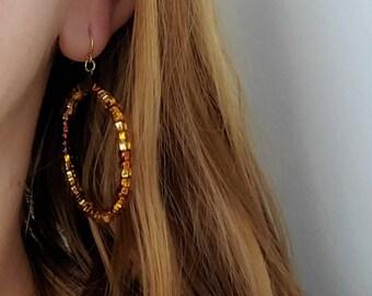 "Solazur earrings ""Caramela"""