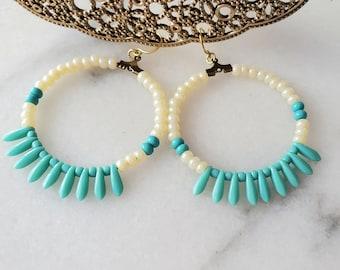 """Solazur earrings """"Ivory"""""""