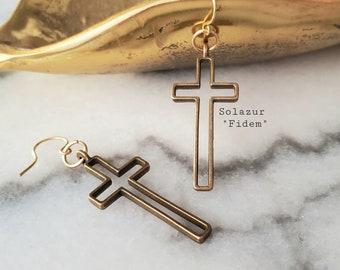 """Solazur earrings """"Fidem"""""""