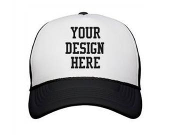 b5a230c093c Hand Painted Trucker Hat  Your Custom Landscape. Scroll for examples.