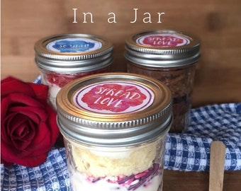 1 Vanilla Cake in a Jar