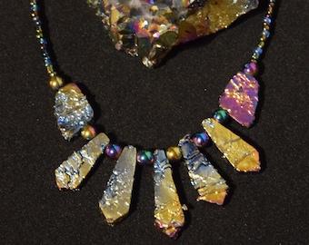 Titranium Sprayed Crystals