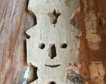 Wooden circus character
