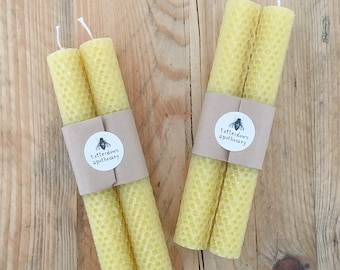 Beeswax Candles (pair)