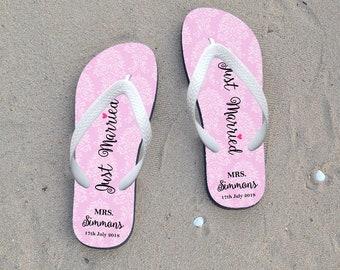 fbd0e780d Just married flip flops