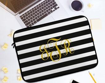 Personalized laptop sleeve, macbook, macbook pro, macbook air, 11, 12, 13, 15, monogram, case, bags, gifts, neoprene,cheap