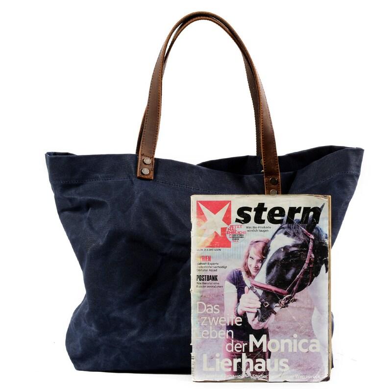 af7dc8c94d Waxed Canvas Tote Bag Canvas Fabric Crossbody Bag Diaper Bag