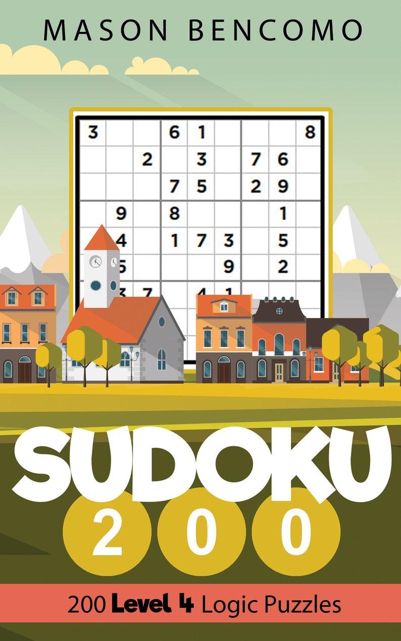 Sudoku 200: Travel Sudoku with More Medium Puzzles Volume 4 image 0