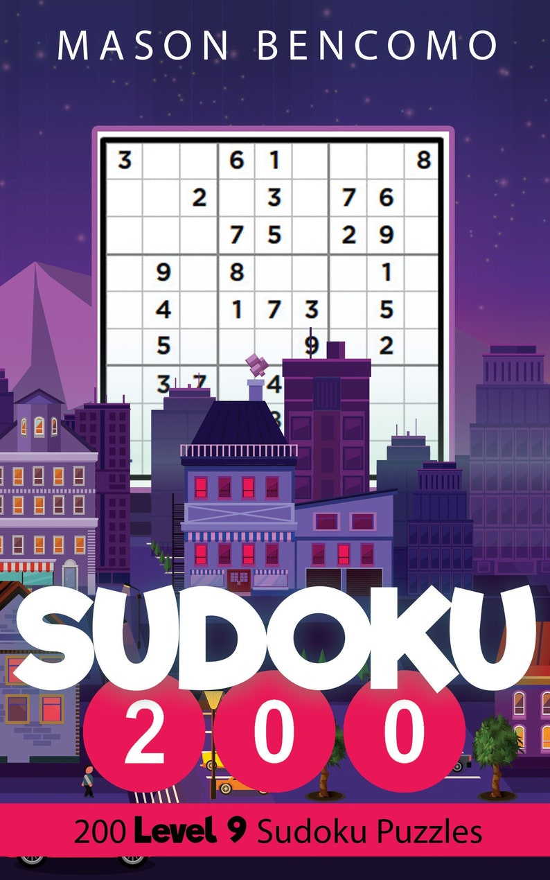 Sudoku 200: Master The Sudoku With These Very Hard Puzzles image 0