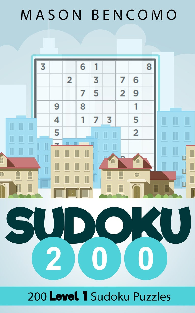 Sudoku 200: Easy Sudoku Puzzles Great For Beginners Volume 1 image 0