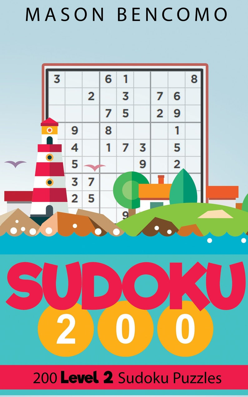 Sudoku 200: Level Up With Easy Yet Challenging Sudoku Puzzles image 0