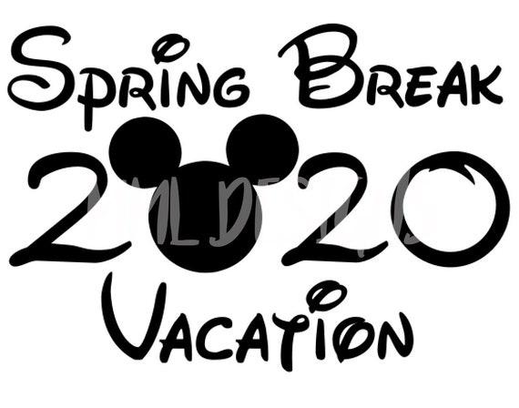 Disney Vacation Cricut File Silhouette File Svg Dxf Eps Etsy