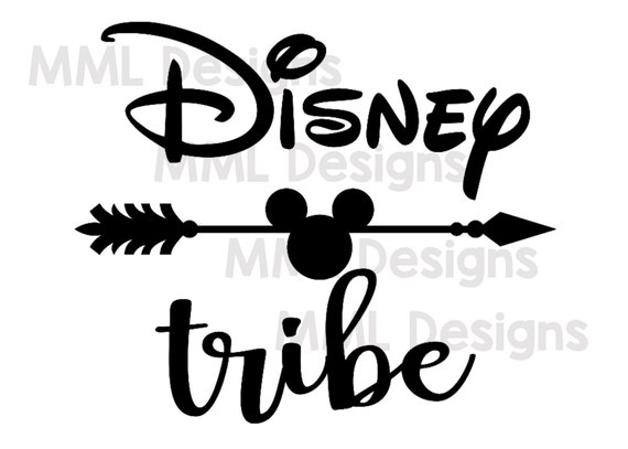 Disney Tribe Mickey Mouse Cricut File Silhouette File Svg Etsy