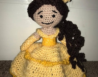 Belle Crochet Doll