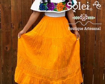 Black Mexican Skirt Ethnic colorful Stripe Native Boho Bohemian Style Aztec