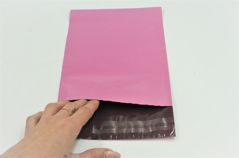 Strong Poly Mailing Sacks Self Seal Shipping Bag Pink Mail Bags Postage Packets Mailbags 100 Pink 6x 9 Postal Bags Delivery Bags