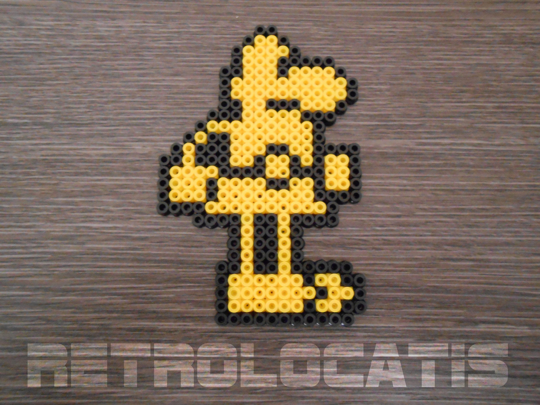Sir Fred pixel art from ZX Spectrum Midi Hama / perler bead | Etsy