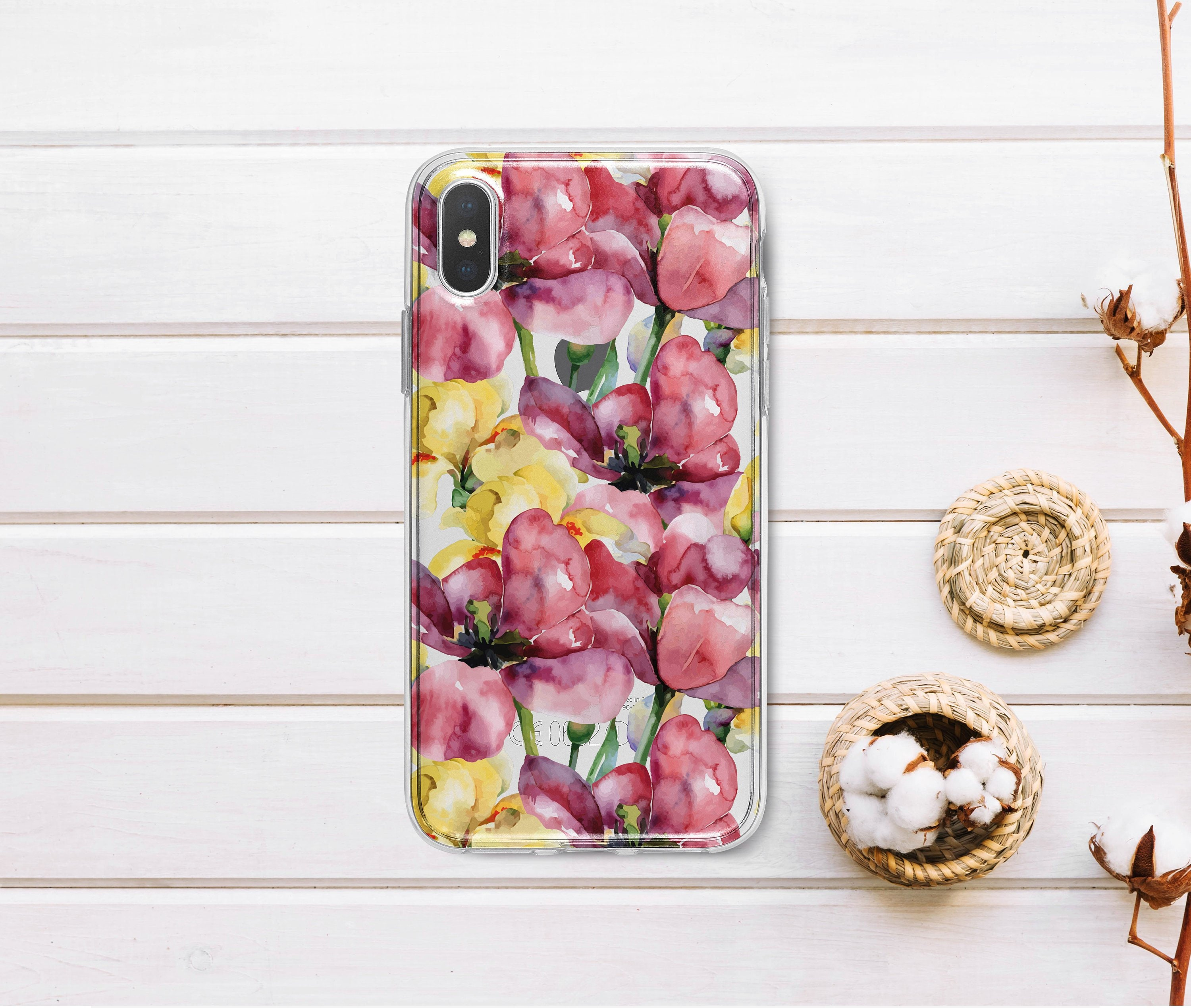 Tulip Iphone 6s Plus Case Iphone 7 Case Floral Iphone 8 Plus Etsy