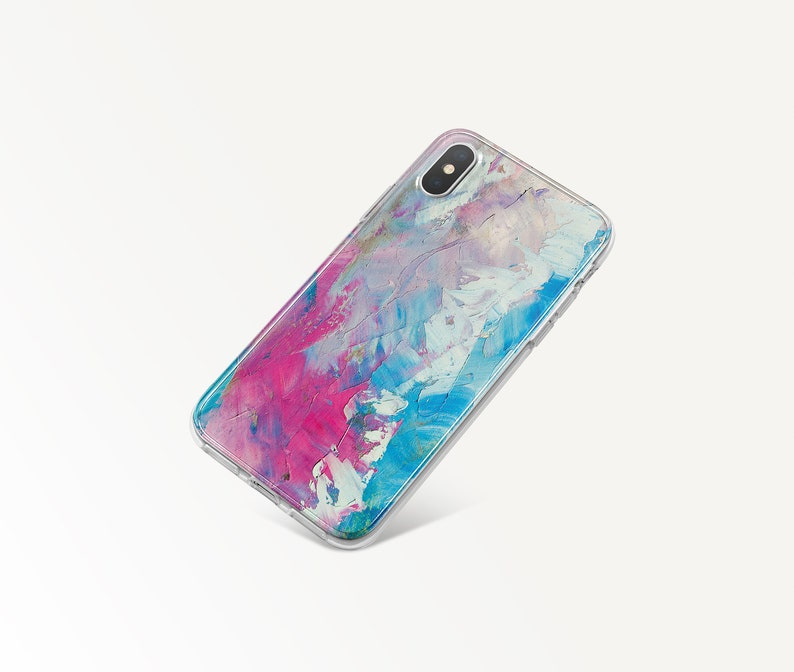 Watercolor IPhone X Case IPhone XR Silicone Case IPhone XS Max Case IPhone 8 Plus Case IPhone 7 Case Colorful Google Pixel 3 XL Case EP0092