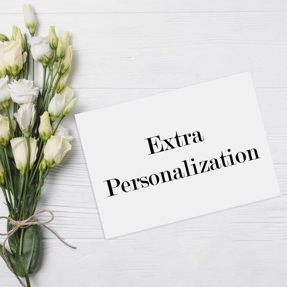 Extra Personalization