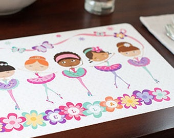 Kids Table Mat A4 In Size Personalised Children/'s Placemat Children/'s Gifts Children/'s Wipeable Dinner Mat Gift for Toddler