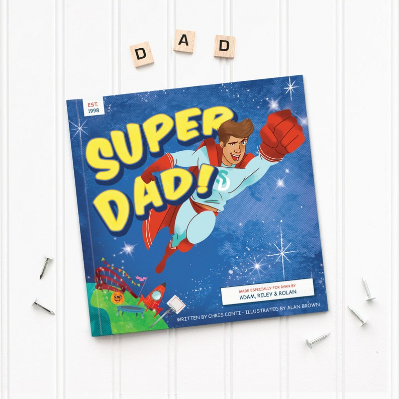 Super Dad Book Cover