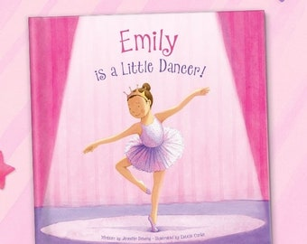 Dance Recital Gift for Girls | Personalized Book | Dance Team Gift | BK530