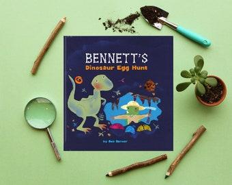 Dinosaur Birthday Gift | Personalized Books for Kids | BKC560