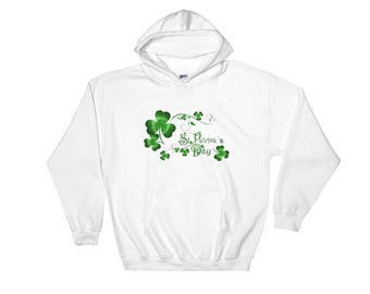 St Patrick's Day Hooded Sweatshirt