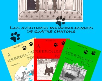 Entertaining stories about cats, cats and kittens.