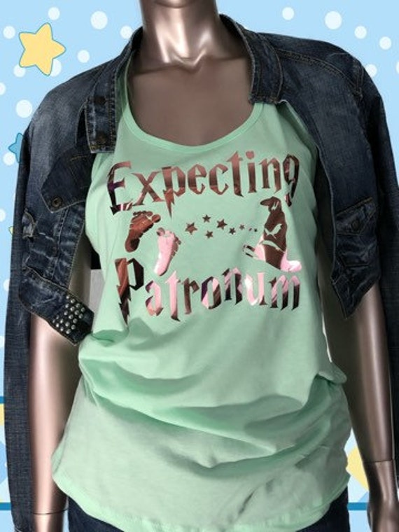 Expecting Patronum shirt, Pregnancy, Baby Announcement Shirt, Pregnancy Shirt, pregnacy Reveal ,