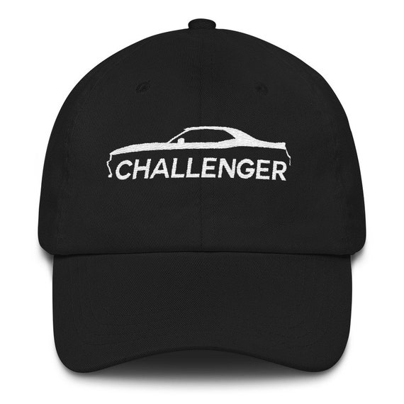 Dodge Challenger Hat Embroidered Cap