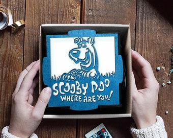 Scooby-Doo nursery lamp, Scooby-Doo party, Scooby-Doo cartoon night light, Scooby-Doo and Shaggy, Scooby-Doo art, Nursery bedroom decor
