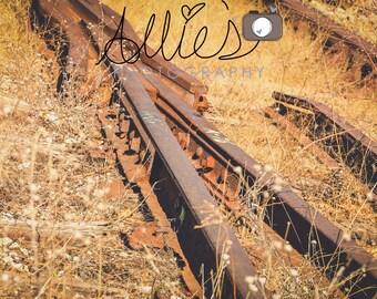 Abandon Railroad Tracks