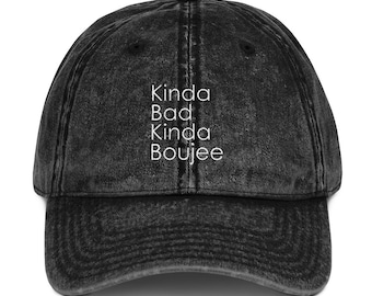 564cc923c Bad and boujee hat   Etsy