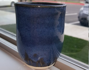 Pottery Tumbler, Ceramic Cup, Ready to ship!