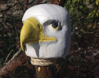 American Bald Eagle Staff and Walking Stick