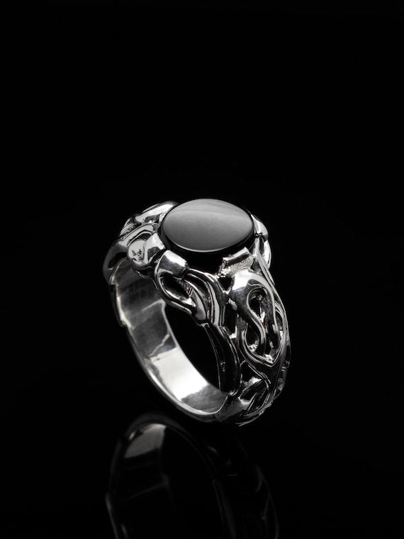 Signet ring  silver ring  man ring  hand made