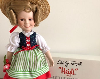Shirley Temple Doll Heidi