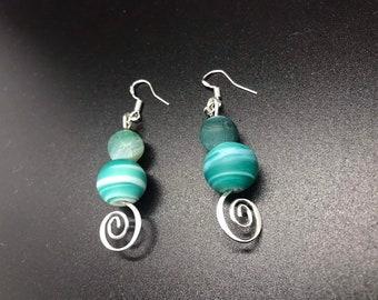 Ocean Current Earrings