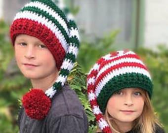 b144e8fa4 Elf hat pattern | Etsy