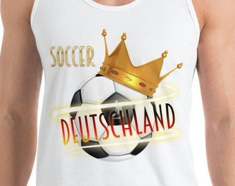 Soccer tank top Germany (Deutschland) - soccer mom tank top