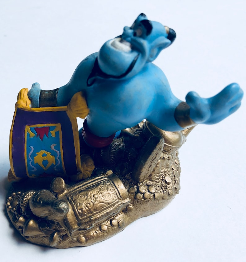 Figure Topper Cake Classics Store Genieamp; Magic Carpet Pvc Disney Aladdin 53ARjL4